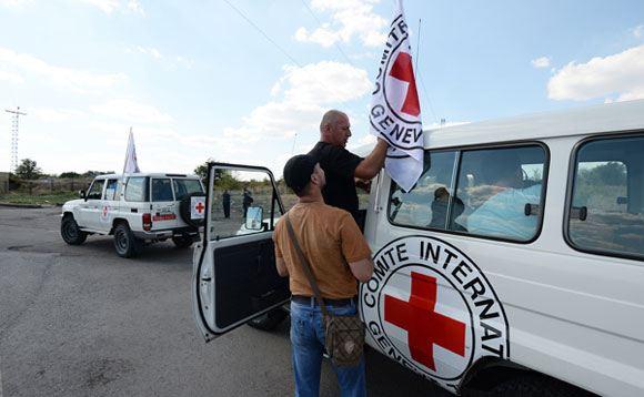 На Украине погиб сотрудник Международного комитета красного креста