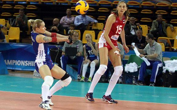 Женская сборная России проиграла матч против команды Бразилии