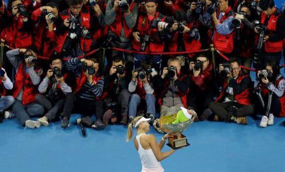 Мария Шарпова стала победительницей теннисного турнира в Пекине