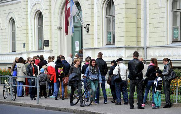 В Латвии завершились выборы в сейм