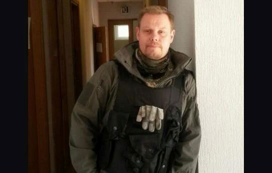 """Swede Michael Skilt fought against the Ukrainian separatists in the """"Azov"""""""
