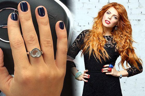 Анастасии Стоцкой подарили красивое и баснословно дорогое кольцо
