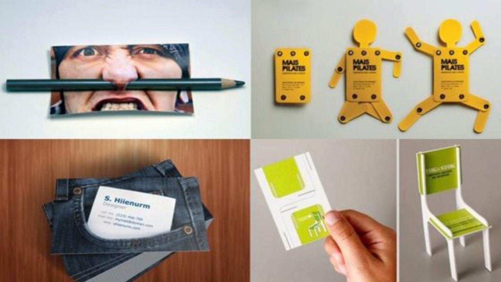 Не для всех профессий подойдет креативная визитка