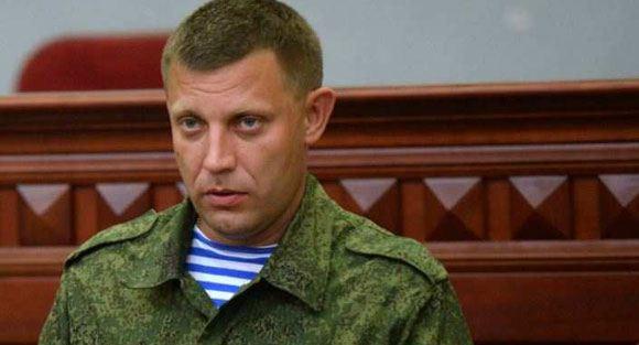 Александр Захарченко уходит с поста премьер-министра ДНР