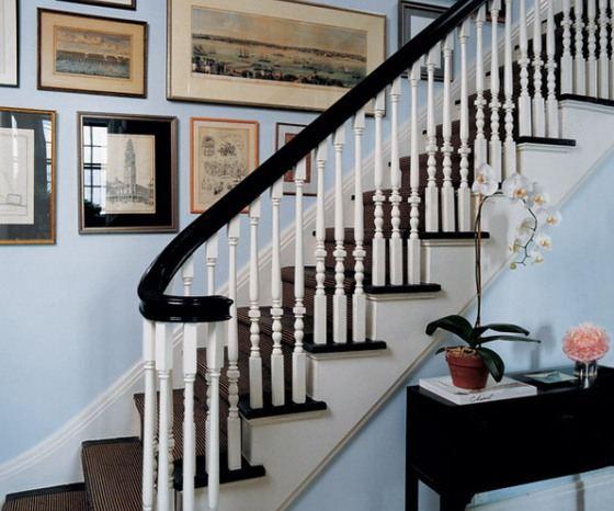 Декорированная лестница подчеркнет индивидуальность жилища