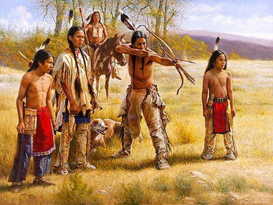 О древних цивилизаций индейцев ходят легенды