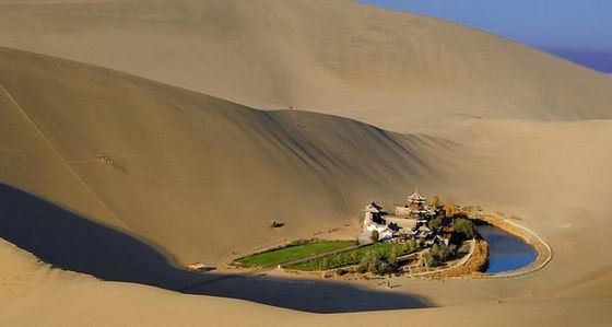 Пустыня Гоби хранит следы древних цивилизаций