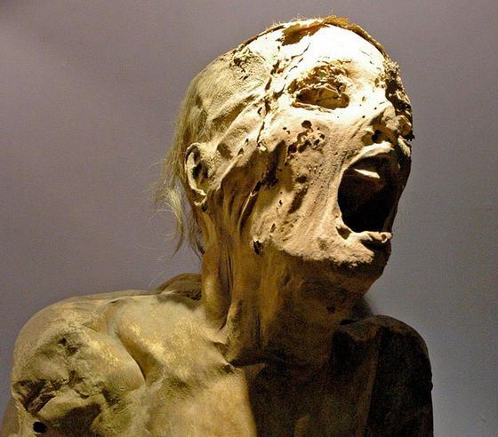 В Египте нашли жуткие кричащие мумии