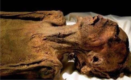 Кричащие мумии возможно, открыли рот после смерти