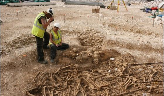 Безголовых викингов археологи нашли недавно
