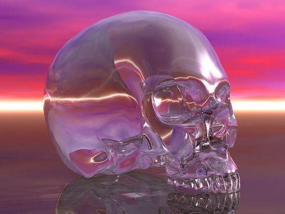 Хрустальный череп входит в топ самых жутких находок