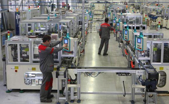 Производство на новом заводе «Интерскола» в большой степени автоматизировано