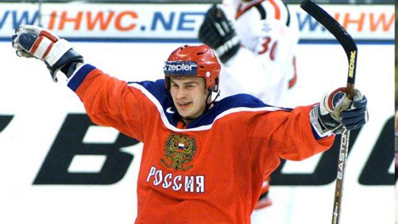 Валерий Карпов в составе сборной России
