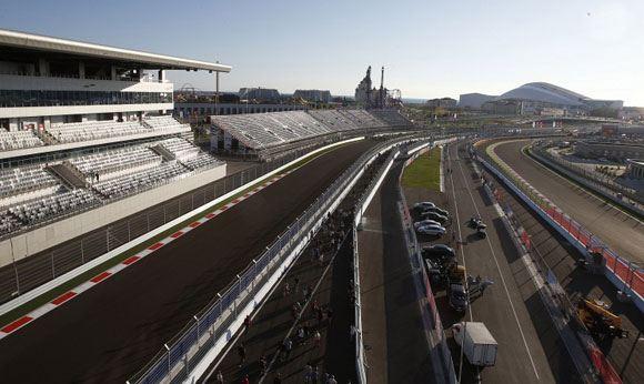 Гоночная трасса «Формулы» в Сочи
