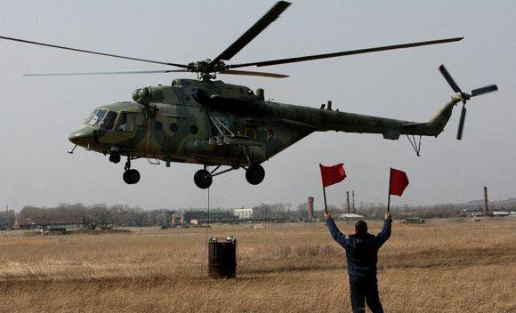 Ми-8 способен выполнять самые разные задачи