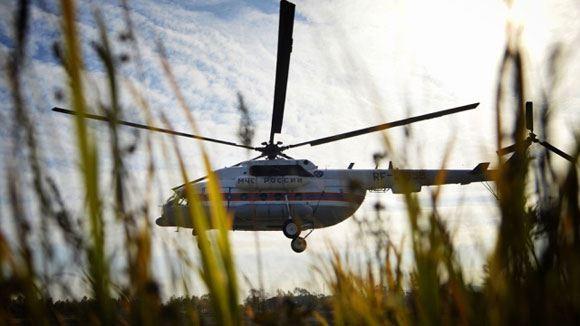 Вертолет Ми-8 – надежная и неприхотливая машина, используемая повсеместно