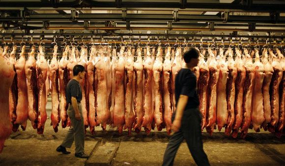 Россия сняла запрет на ввоз мяса из Китая