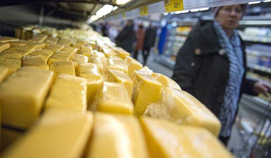 Россия запретила ввоз украинских сыров