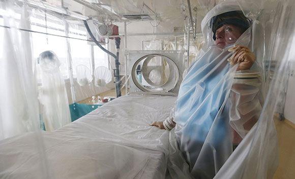 Заразиться вирусом Эбола воздушно-капельным путем нельзя