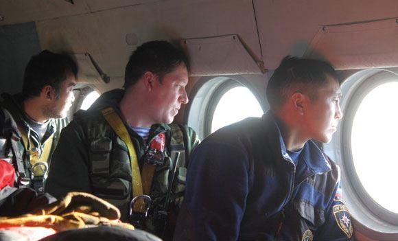 Поиски пропавшего Ми-8 пока не принесли никаких результатов