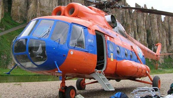 Ми-8 – одни из самых распространенных в мире вертолетов