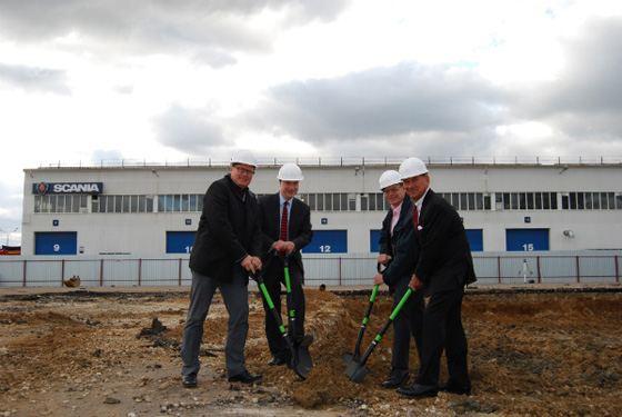«Скания-Русь» возведет новую сервисную станцию Scania