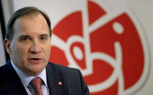 Премьер-министр Швеции Стефан Лефвен