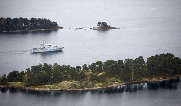 Поиски иностранной подлодки ведутся Швецией с 17 октября