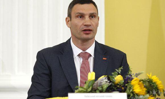 Мэр Киева Кличко хочет выпустить книгу со своими оговорками