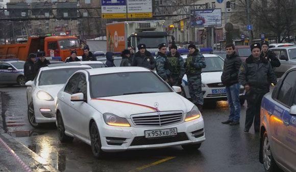Задержание «стреляющего» кортежа в Москве