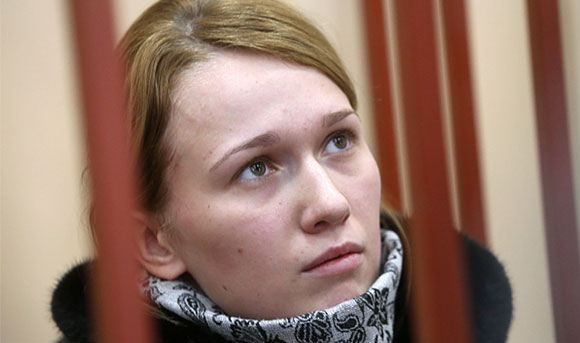 Диспетчер-стажер Светлана Кривсун в Басманном суде
