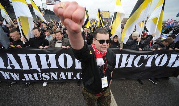 «Русский марш» в 2012 году