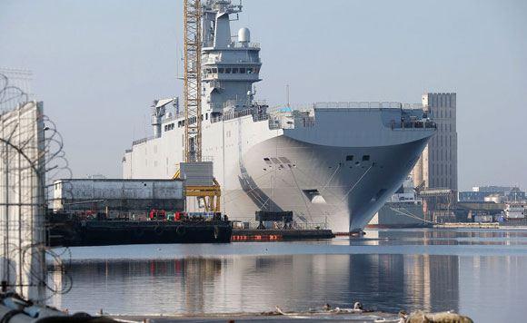 "Launched ""Mistral"" ""Vladivostok"""