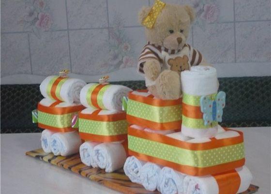 Оформить подарок новорожденным
