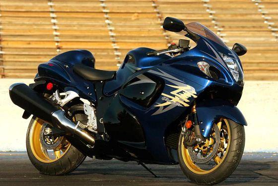Suzuki Hayabusa - самый быстрый мотоцикл в мире