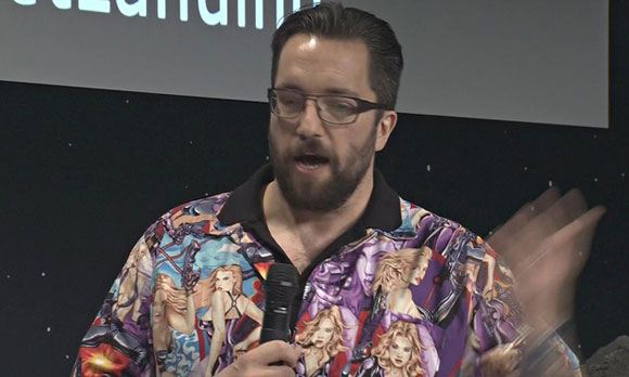 Астрофизик Мэт Тейлор и его оскорбительная рубашка