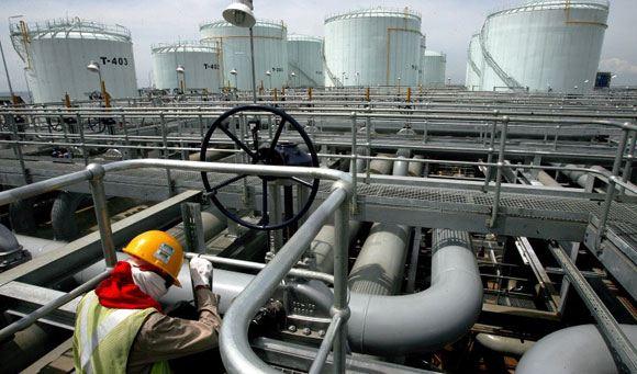 Нефть марки Brent опустилась в цене ниже 67 долларов