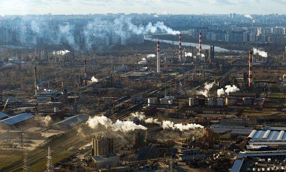 В окрестностях Московского нефтеперерабатывающего завода снова был превышен уровень сероводорода