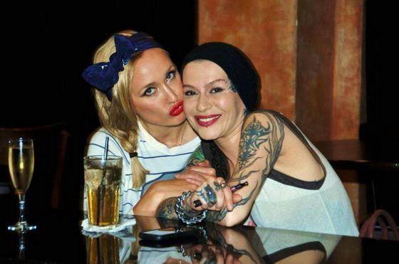 Ksana Sergienko and Nargiz Zakirova