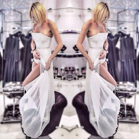 Элина Карякина сошьет платье для свадьбы