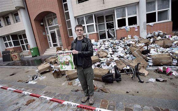 �������� Charlie Hebdo ����� ���������������� ����� �� ������ � 2011 ����