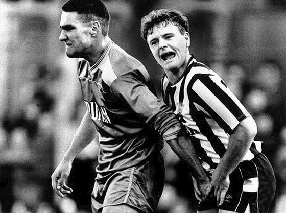 Vinnie Jones and Paul Gascoigne: A Football Case