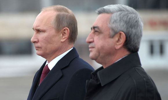 Putin expressed condolences to Serzh Sargsyan in connection with the murder of a family in Gyumri