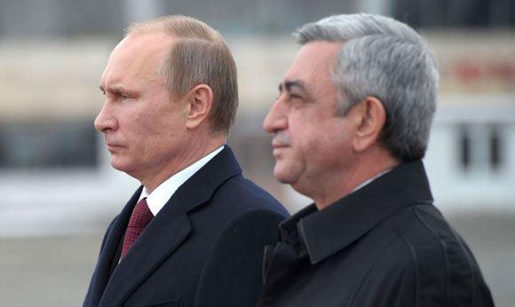Путин выразил Сержу Саргсяну соболезнования в связи с убийством семьи в Гюмри