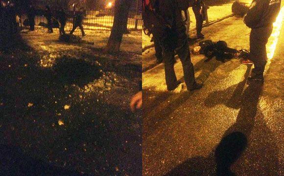 У здания суда в Харькове произошел теракт