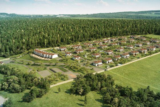 Коттеджный поселок отличает продуманная инфраструктура
