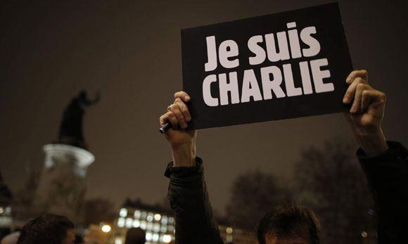 Тысячи жителей Франции вышли на улицу в знак протеста против терроризма
