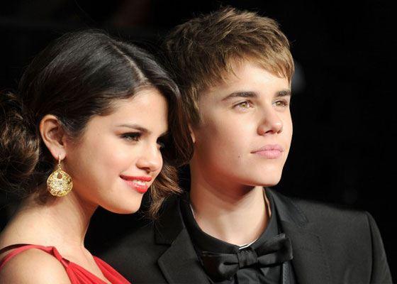 Pictured: Justin Bieber and Selena Gomez