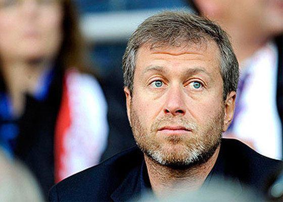 In the photo: Roman Abramovich