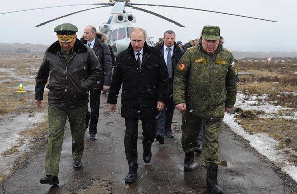 Путин подписал указ о призыве запасников на сборы